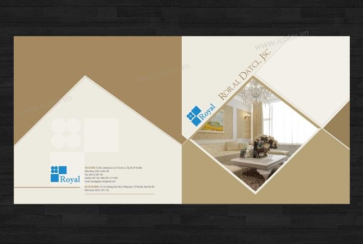Thiết kế Profile | hồ sơ năng lực Royal Datci