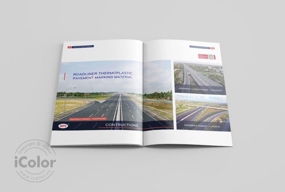 Thiết kế profile | hồ sơ năng lực Công ty CP SIVICO