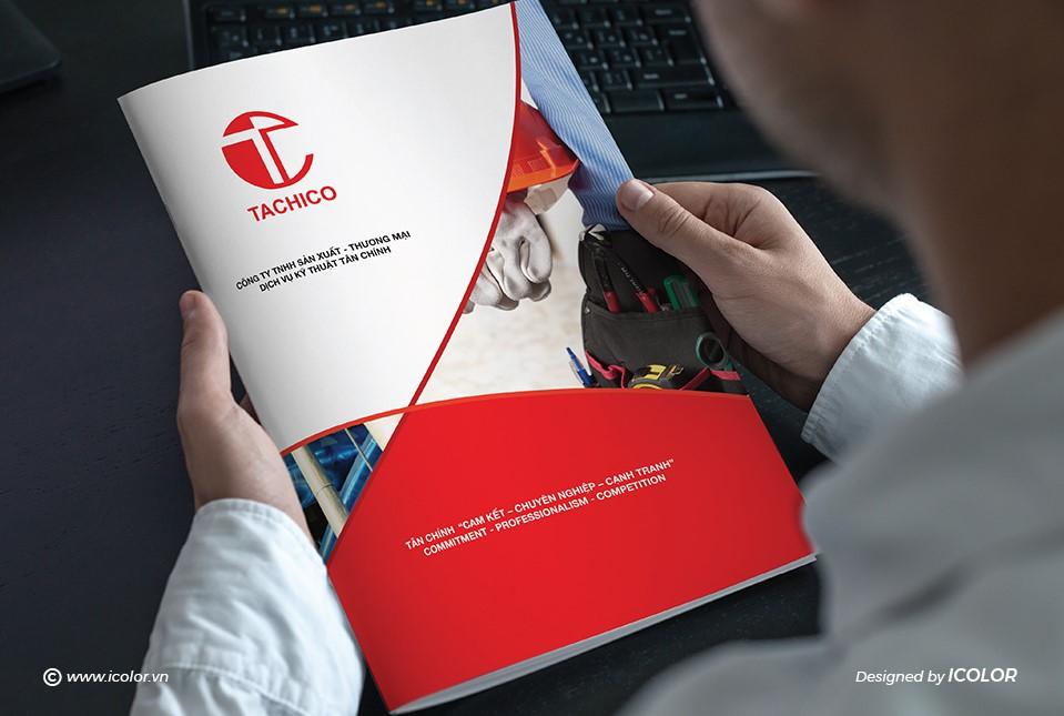 Thiết kế profile | hồ sơ năng lực Công ty Tân Chính
