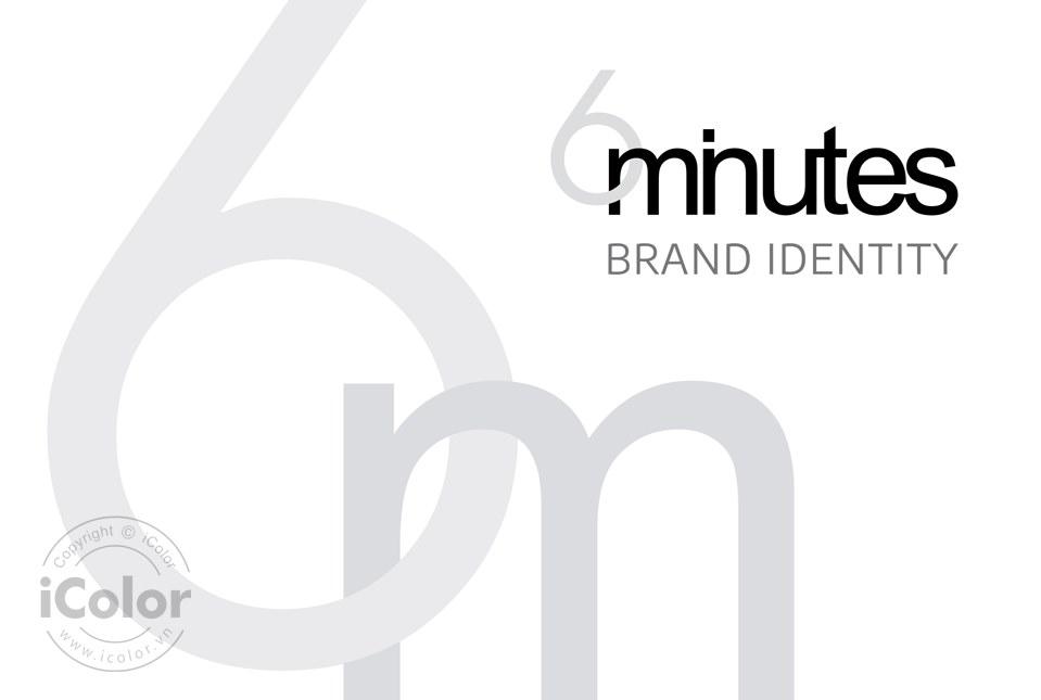 Thiết kế bộ nhận diện thương hiệu 6minutes