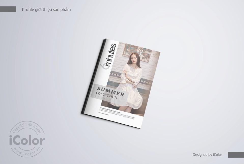 Thiết kế catalogue thương hiệu thời trang 6minutes