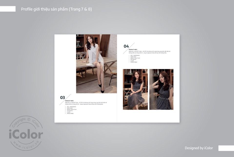 Thiết kế catalog shop thời trang 6minutes