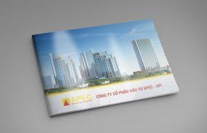 Thiết kế profile   HSNL CTCP Đầu tư Châu Á Thái Bình Dương APEC - API