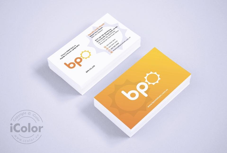 Thiết kế bộ nhận diện Công ty BPO