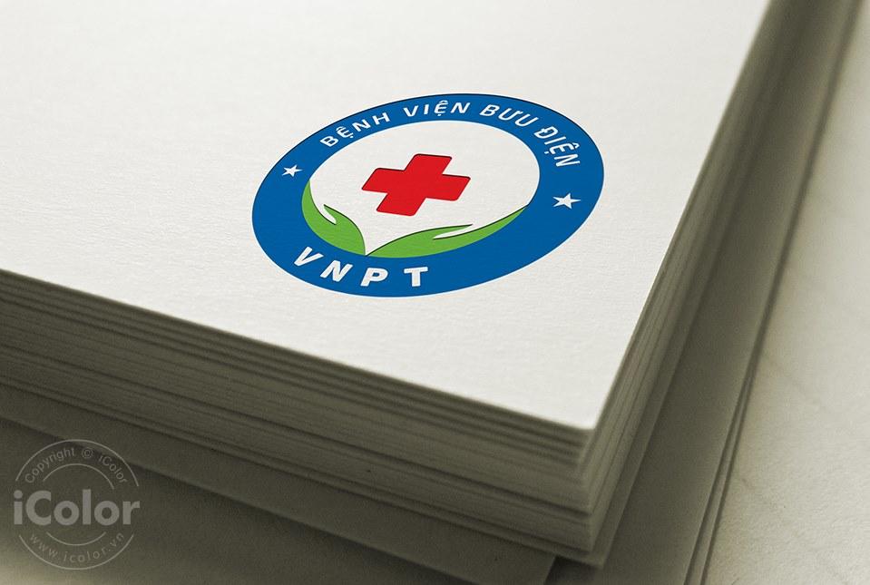 Thiết kế logo Bệnh viện Bưu điện 2021