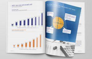 Thiết kế brochure Trung tâm Thông tin Tín dụng QG VN (CIC)