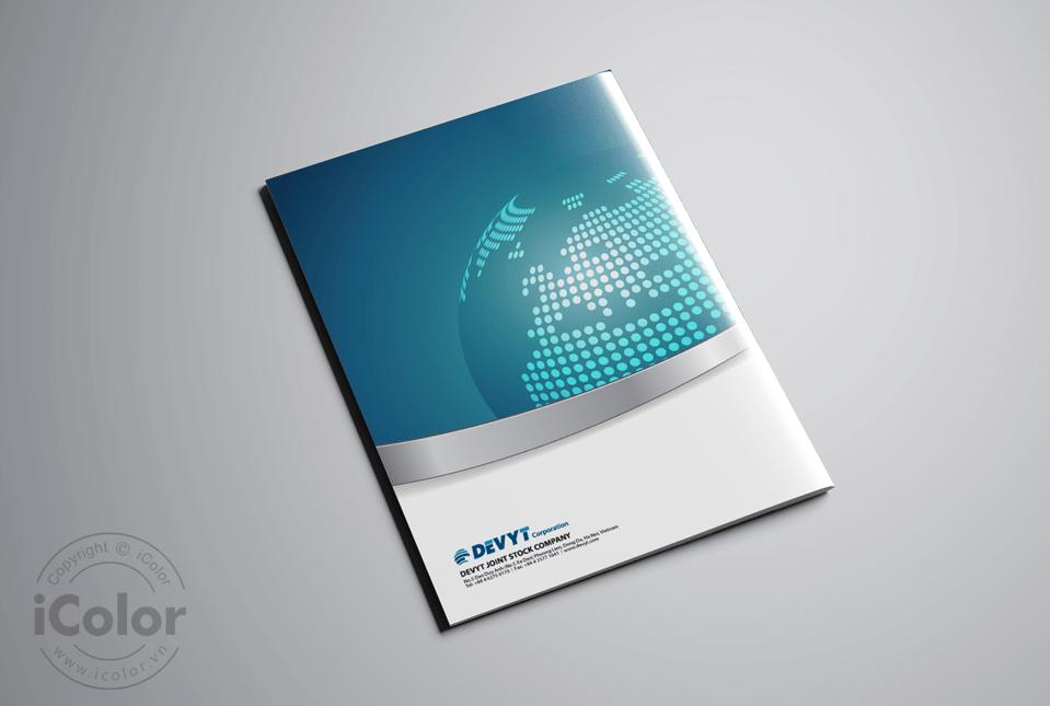 Thiết kế profile | hồ sơ năng lực Công ty DEVYT