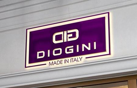 Thiết kế logo Thời trang Ý DIOGINI