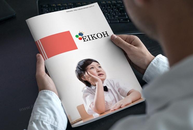 Thiết kế profile | hồ sơ năng lực EIKOH Việt Nam