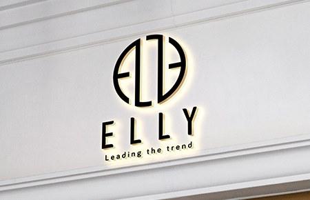 Thiết kế logo thời trang ELLY