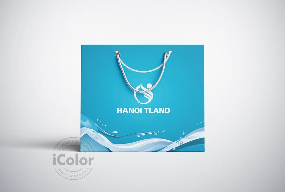 Thiết kế bộ nhận diện thương hiệu dự án Hanoi Tland