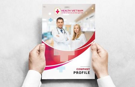 Thiết kế Profile | HSNL Công ty Health Việt Nam