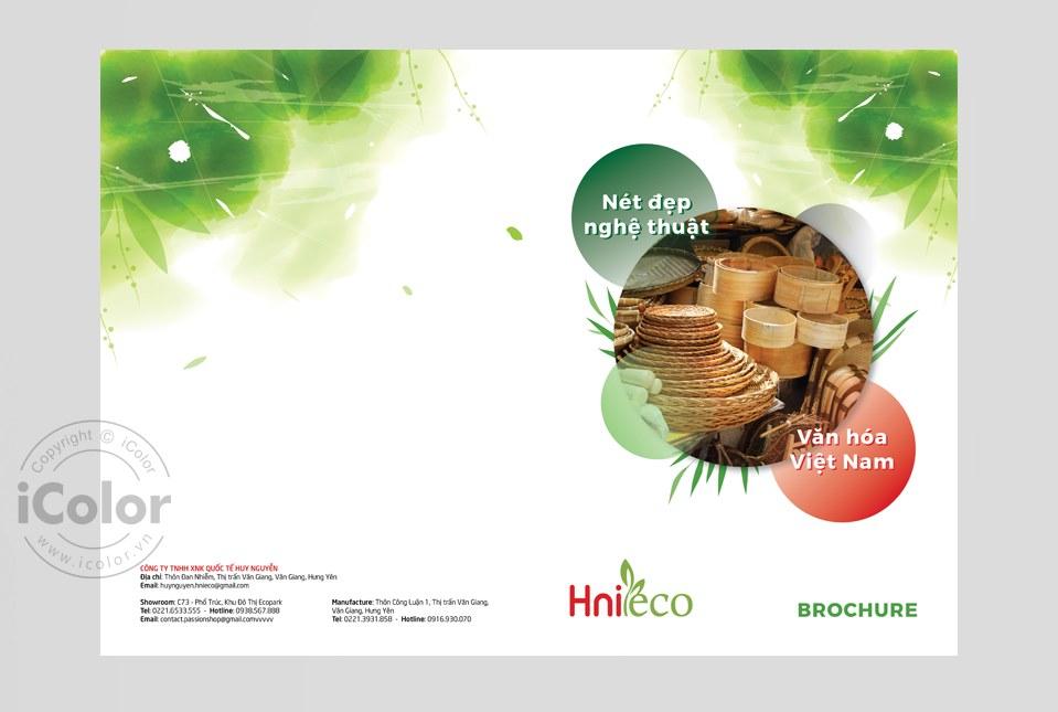 Thiết kế Brochure Công ty Huy Nguyễn