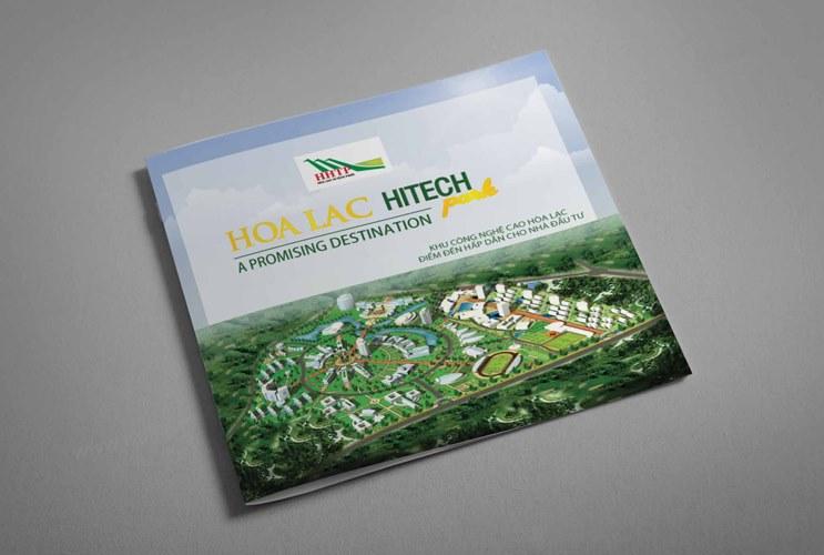 Thiết kế Profile   hồ sơ năng lực Khu Công nghệ cao Hòa Lạc