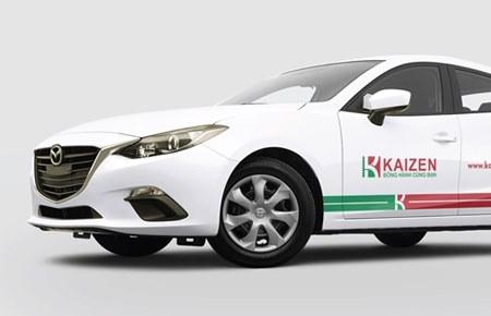 Thiết kế bộ nhận diện công ty cung ứng nhân lực KAIZEN