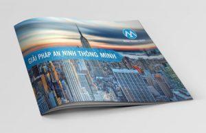 Thiết kế profile | hồ sơ năng lực công ty Minh Mạnh