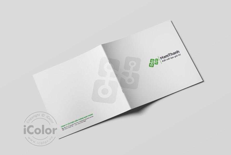 Thiết kế profile | hồ sơ năng lực Công ty CP NTT