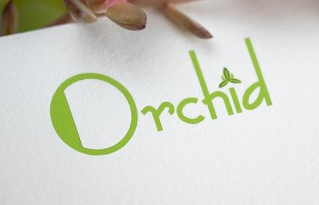 Thiết kế logo Thời trang Orchid