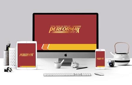 Thiết kế bộ nhận diện thương hiệu Performax