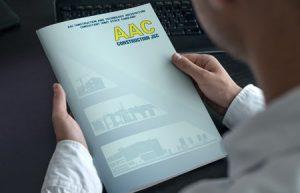 Thiết kế profile   hồ sơ năng lực Công ty AAC