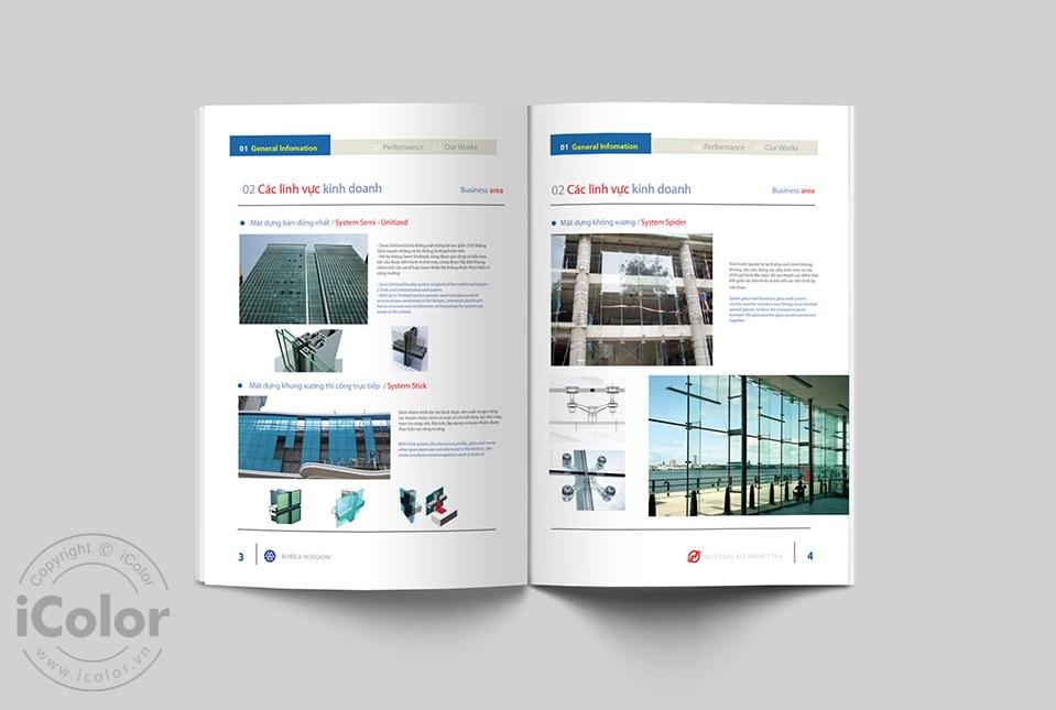 Thiết kế profile Công ty Viettech