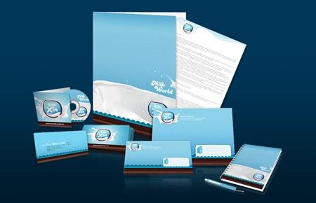 Thiết kế bộ nhận diện thương hiệu Sữa Xịn