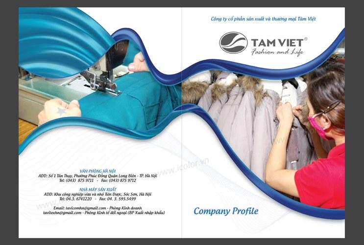 Profile   hồ sơ năng lực Công ty CP SX & TM Tâm Việt