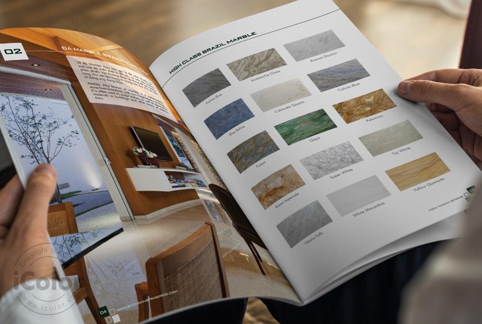 Thiết kế profile | HSNL Công ty CP TM&DV Bạch Đằng (Tiến Thành Stone)