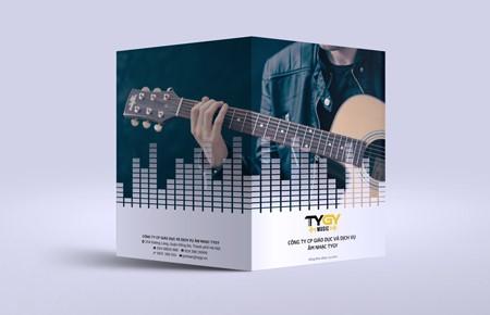 Bộ nhận diện công ty Giáo dục và DV Âm nhạc TYGY TYGY Music là nhà phân phối nhạc cụ & phụ kiện âm nhạc hàng đầu ở Việt Nam hiện nay. Danh mục sản phẩm của TYGY vô cùng đa dạng từ Guitar,...
