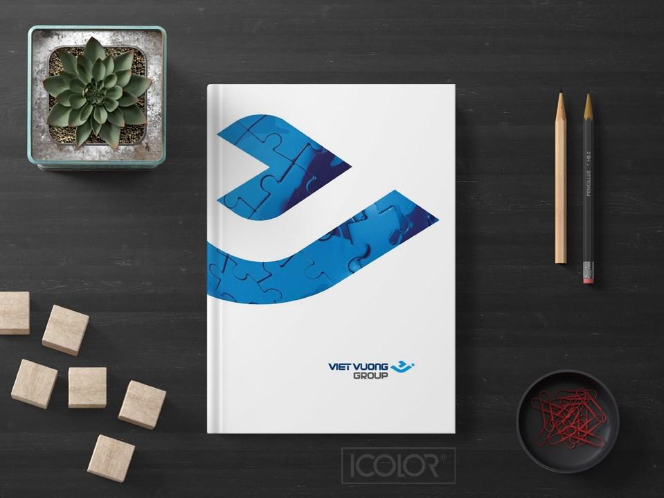 Thiết kế profile   hồ sơ năng lực Công ty Việt Vương