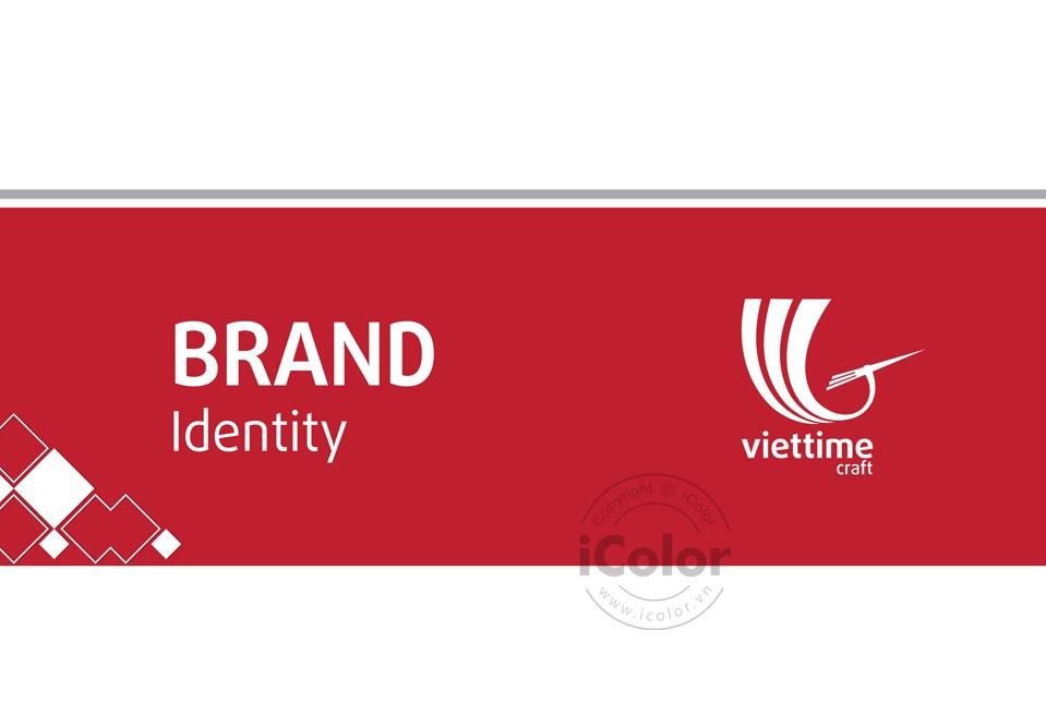 Giới thiệu Thiết kế bộ nhận diện thương hiệu Viettime