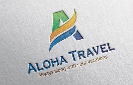 Thiết kế logo CT DTTM và Du lịch ALOHA