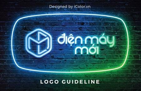 Thiết kế logo Siêu thị Điện máy mới