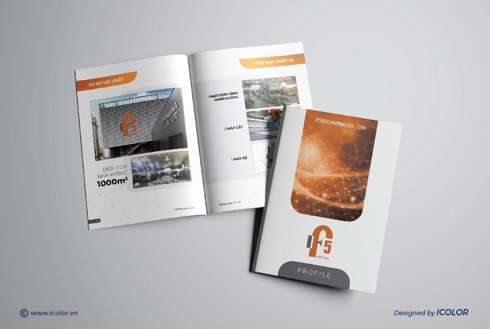 Thiết kế profile công ty F5