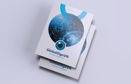 Thiết kế brochure Globalsign
