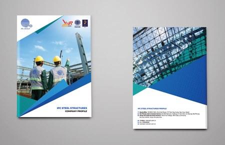 Thiết kế catalog công ty IPC