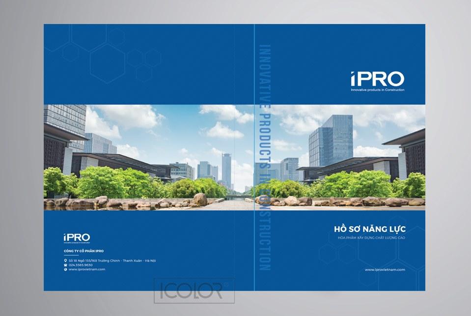 Thiết kế profile | Hồ sơ năng lực công ty IPRO