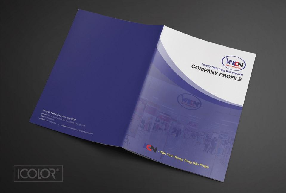 Thiết kế profile | Hồ sơ năng lực công ty KCN