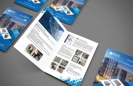 Thiết kế profile công ty KLC