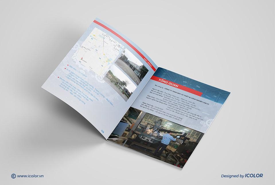 Thiết kế profile |Hồ sơ năng lực công ty LAM UY