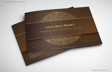 Thiết kế brochure Long Biên Palace