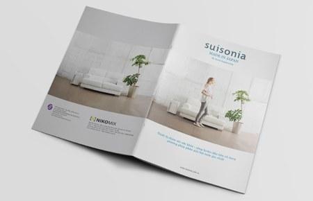 Thiết kế catalogue công ty Nikomix