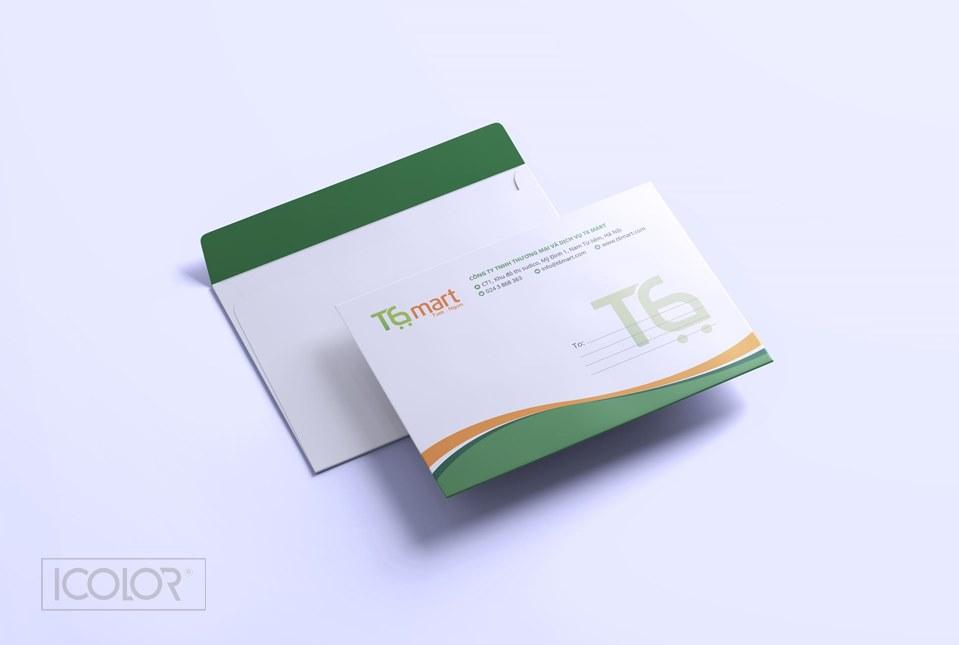 Thiết kế bộ nhận diện Siêu thị T6 Mart