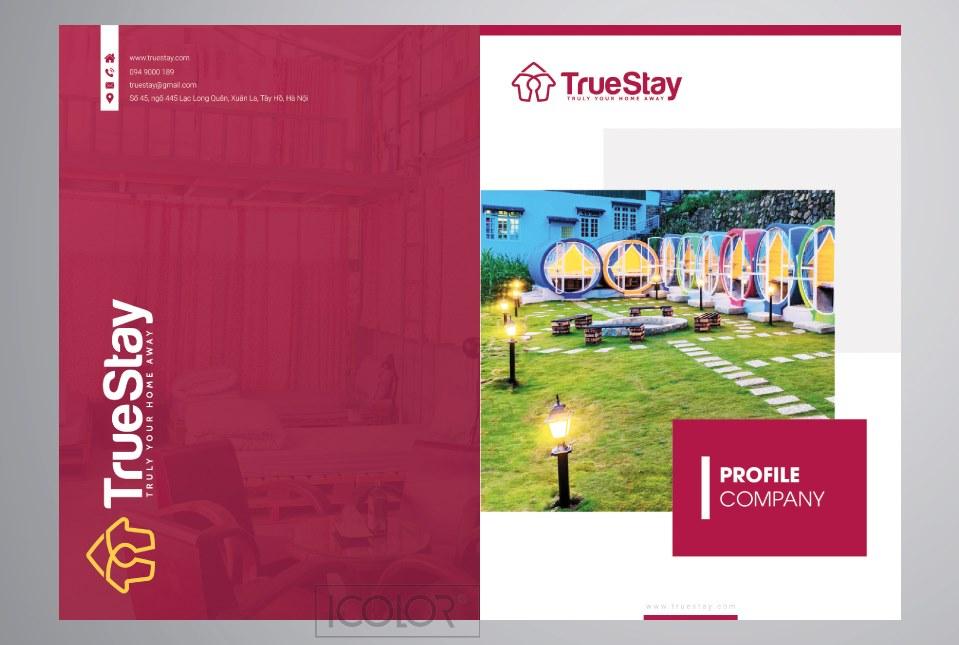 Thiết kế profile dự án Truestay