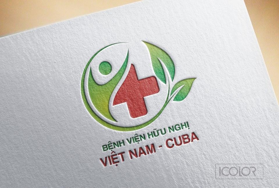 Thiết kế logo Bệnh viện hữu nghị Việt Nam-Cuba