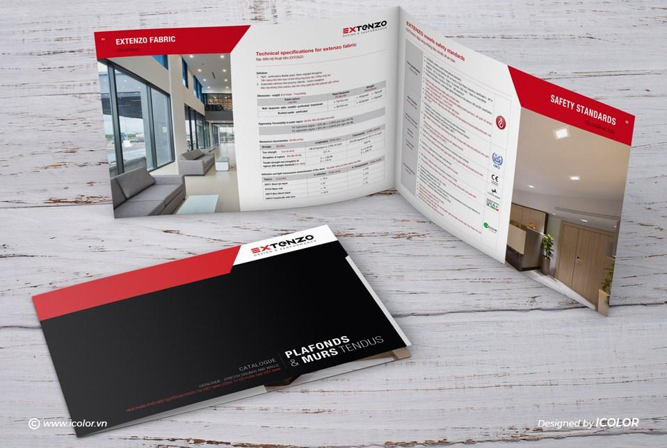 Thiết kế catalog công ty GMI