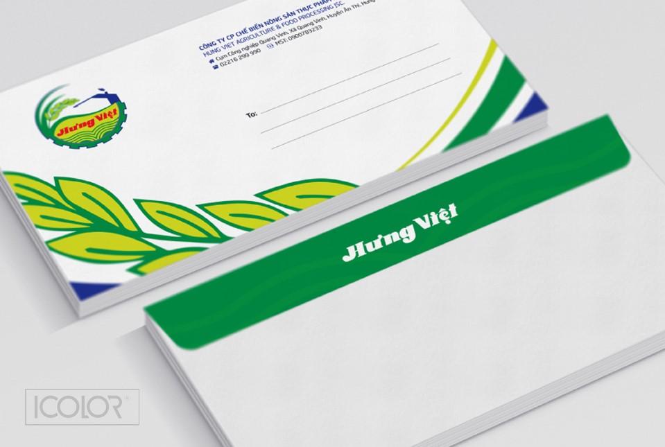 Thiết kế bộ nhận diện công ty Hưng Việt