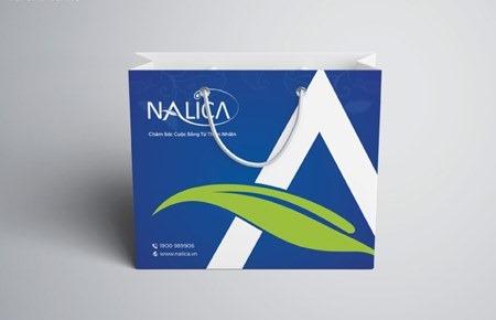Bộ nhận diện thương hiệu CT Dược Mỹ phẩm Nalica