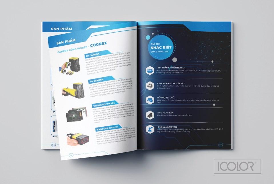 Thiết kế profile | Hồ sơ năng lực công ty CP CN AECOM