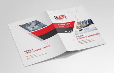 Thiết kế profile   hồ sơ năng lực Công ty CP Dịch vụ IERP